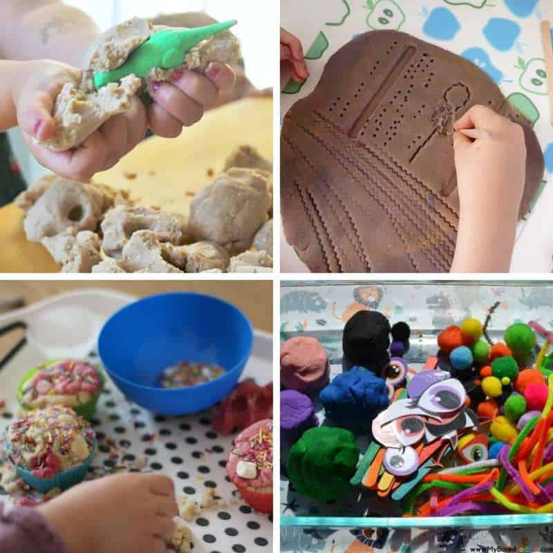 playdough ideas for toddlers