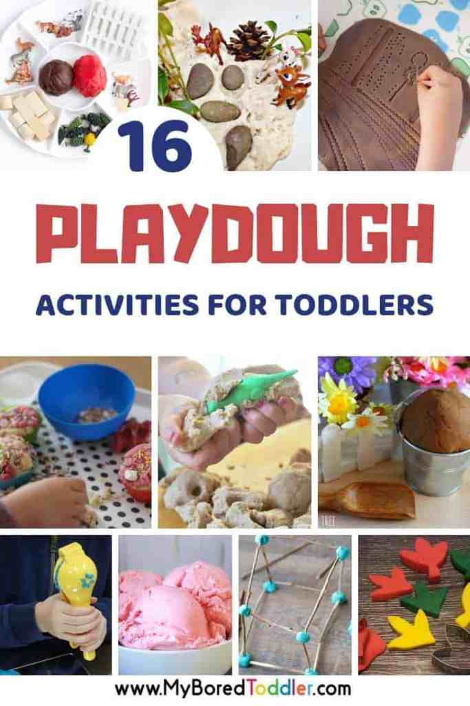16 Playdough activities for toddlers