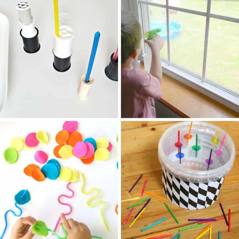 hands-on ideas for fine motor practice