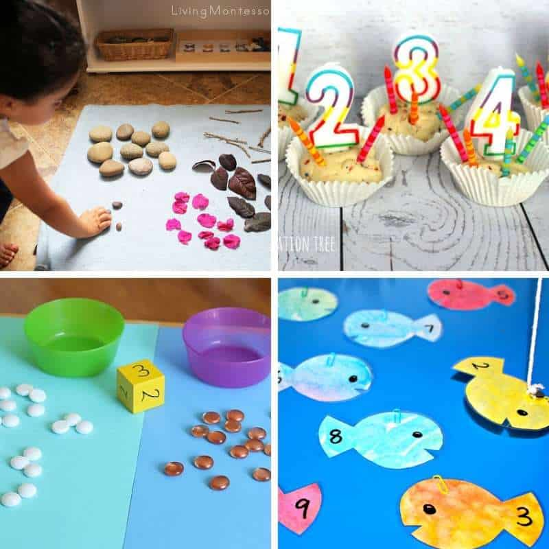Play Based Math Activities for Toddlers