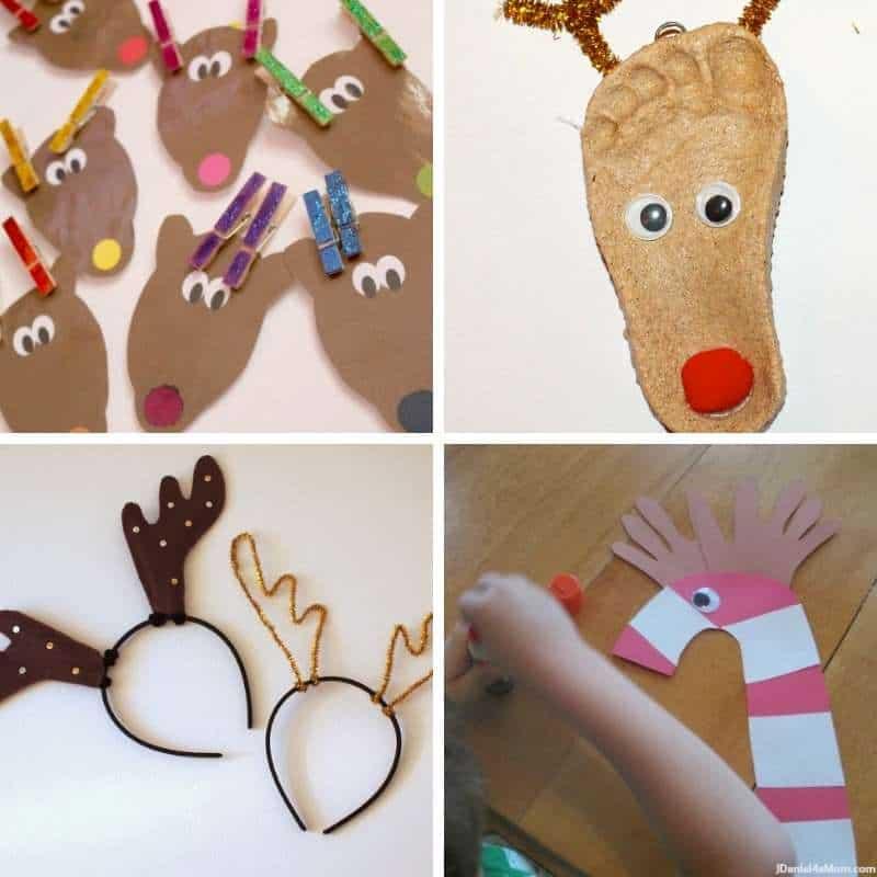 reindeer ideas for kids