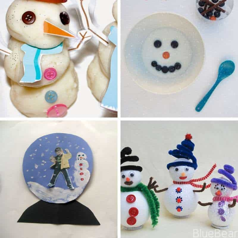 snowman activities for toddlers