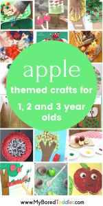 apple crafts and activities for toddlers and preschoolers (1)