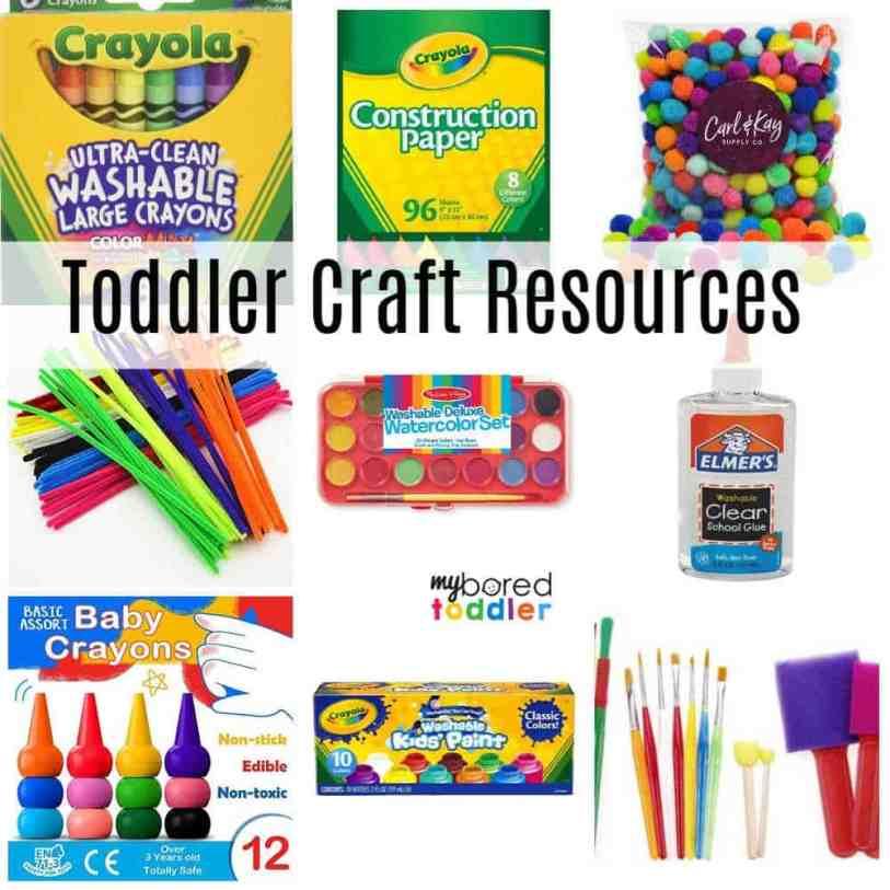 Toddler Craft Resources text