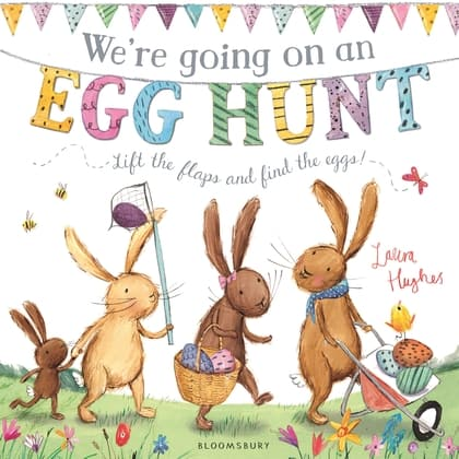 We're going on an Egg Hunt - Easter books for toddlers