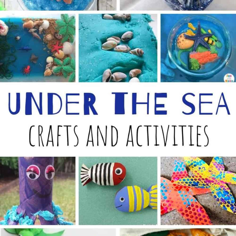 Under The Sea Crafts And Activities For Toddlers My Bored