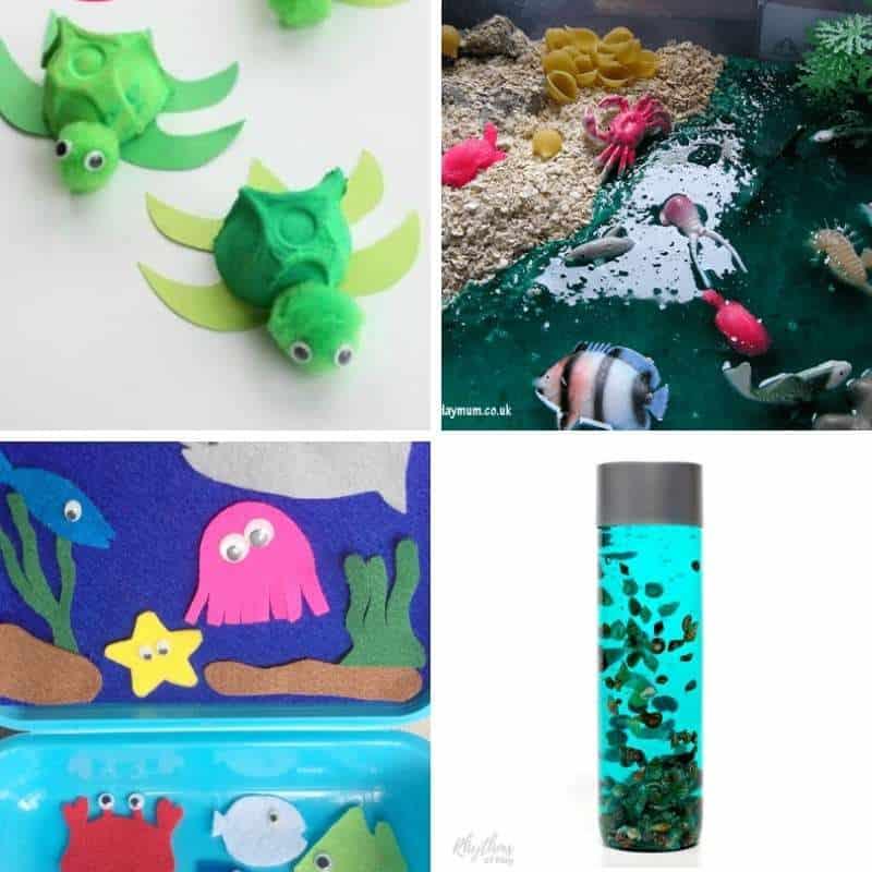 ocean themed play ideas
