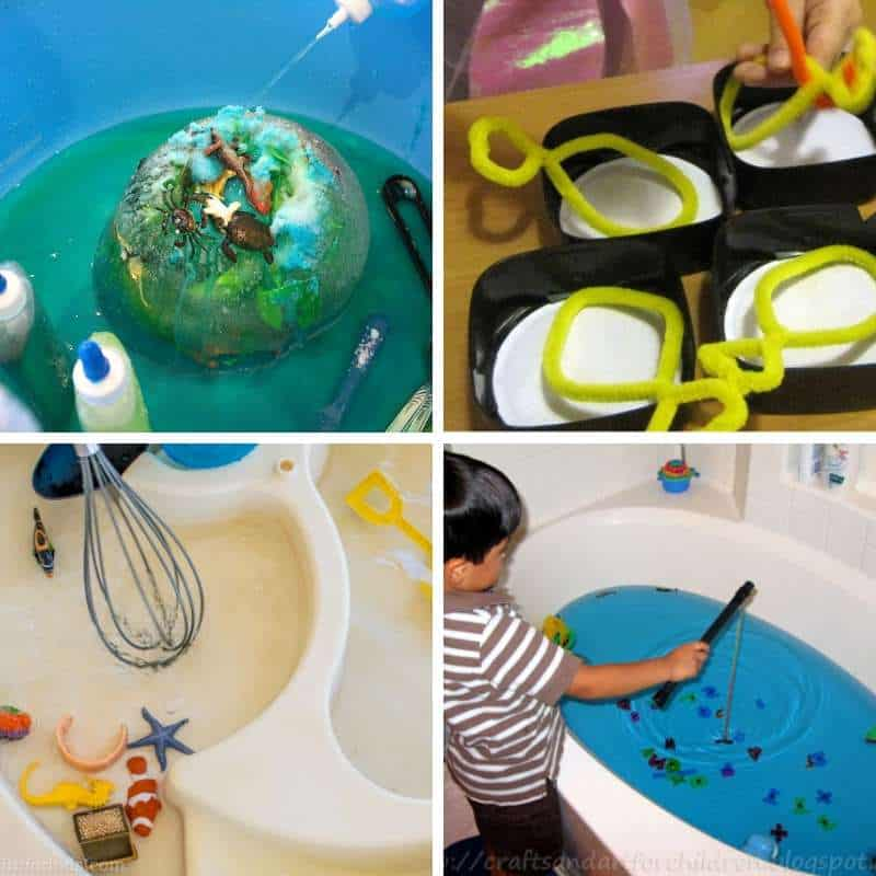 under the sea sensory play ideas