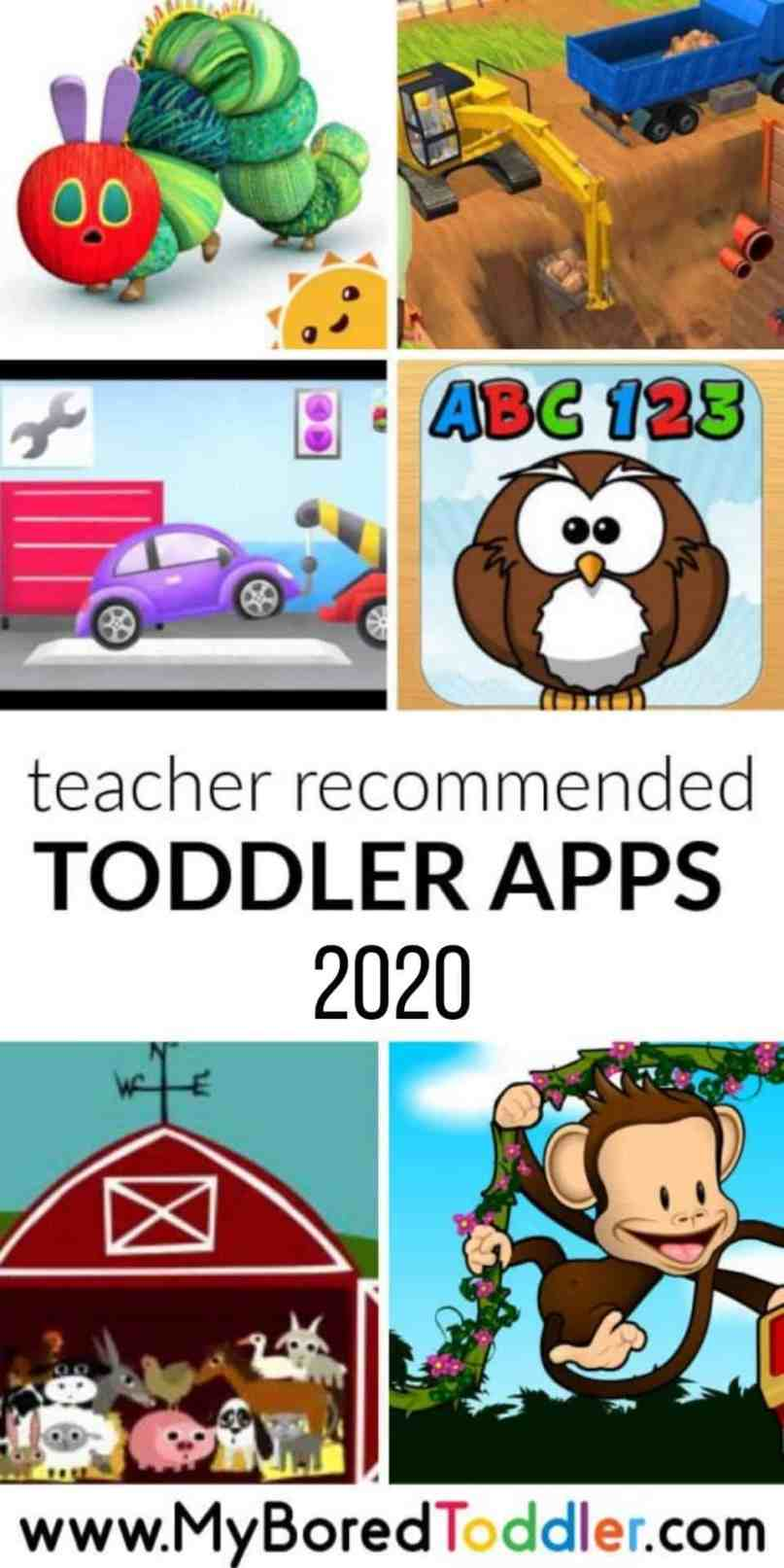 BEST APPS FOR TODDLERS 2020