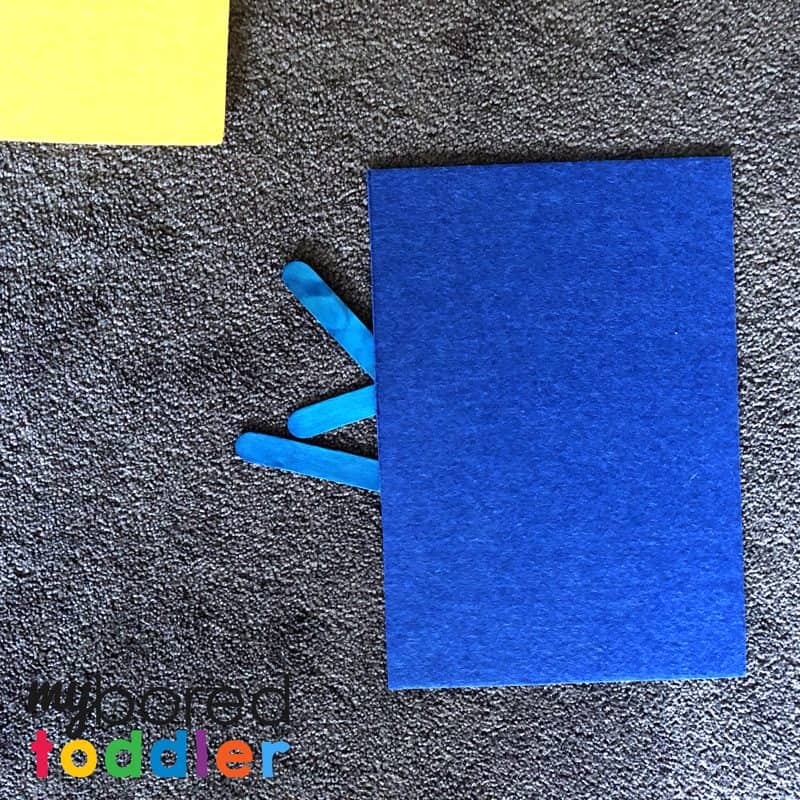 color activiy for toddlers recognition and sorting