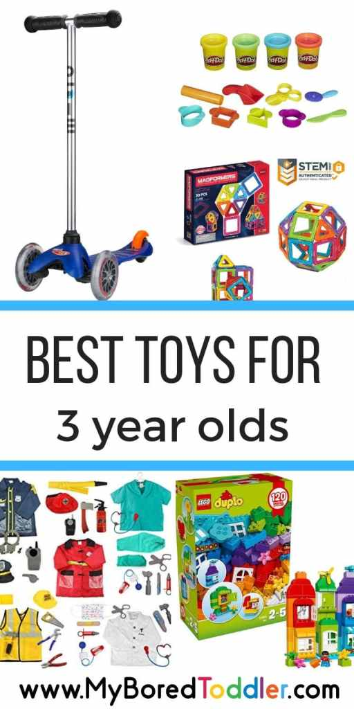 best tosy for 3 year olds