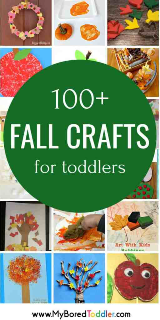 100 fall craft ideas for toddlers