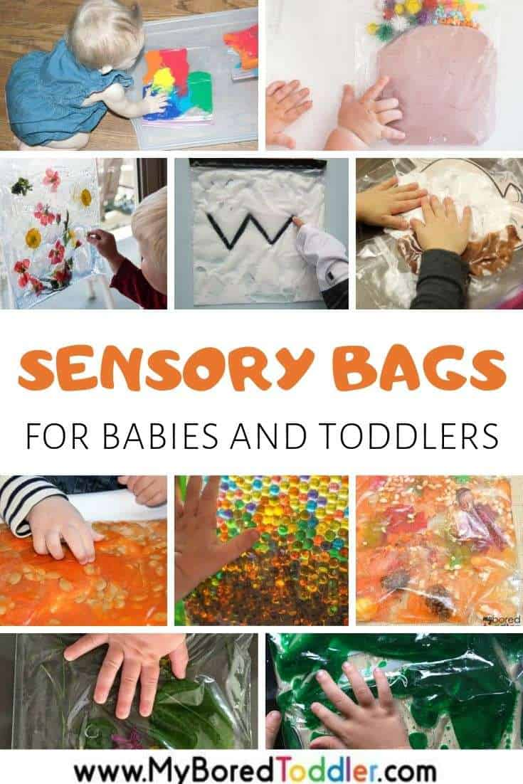 Sensory Bags for Babies & Toddlers