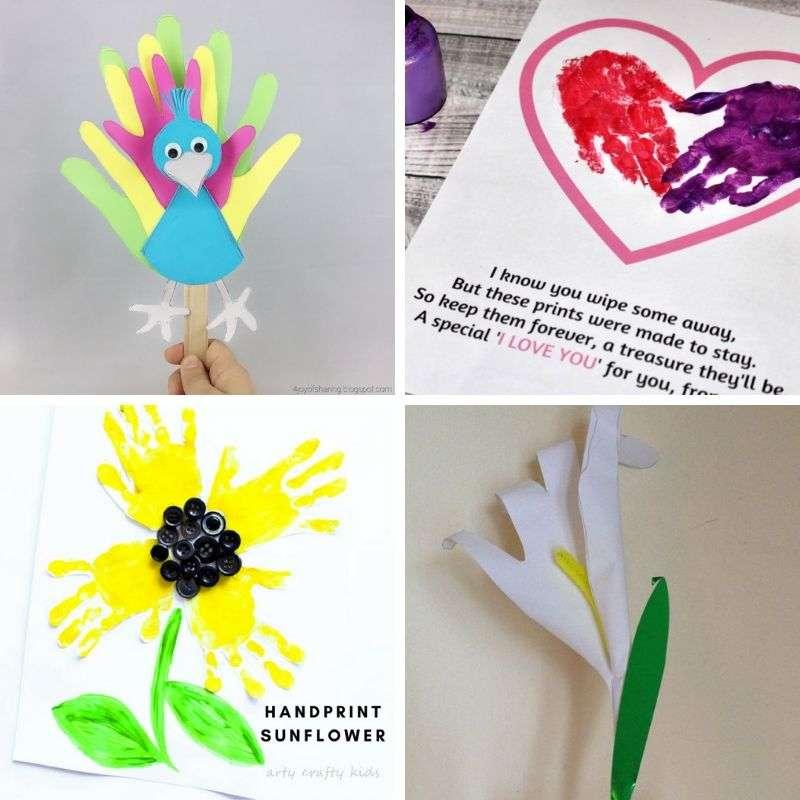 handprint art projects