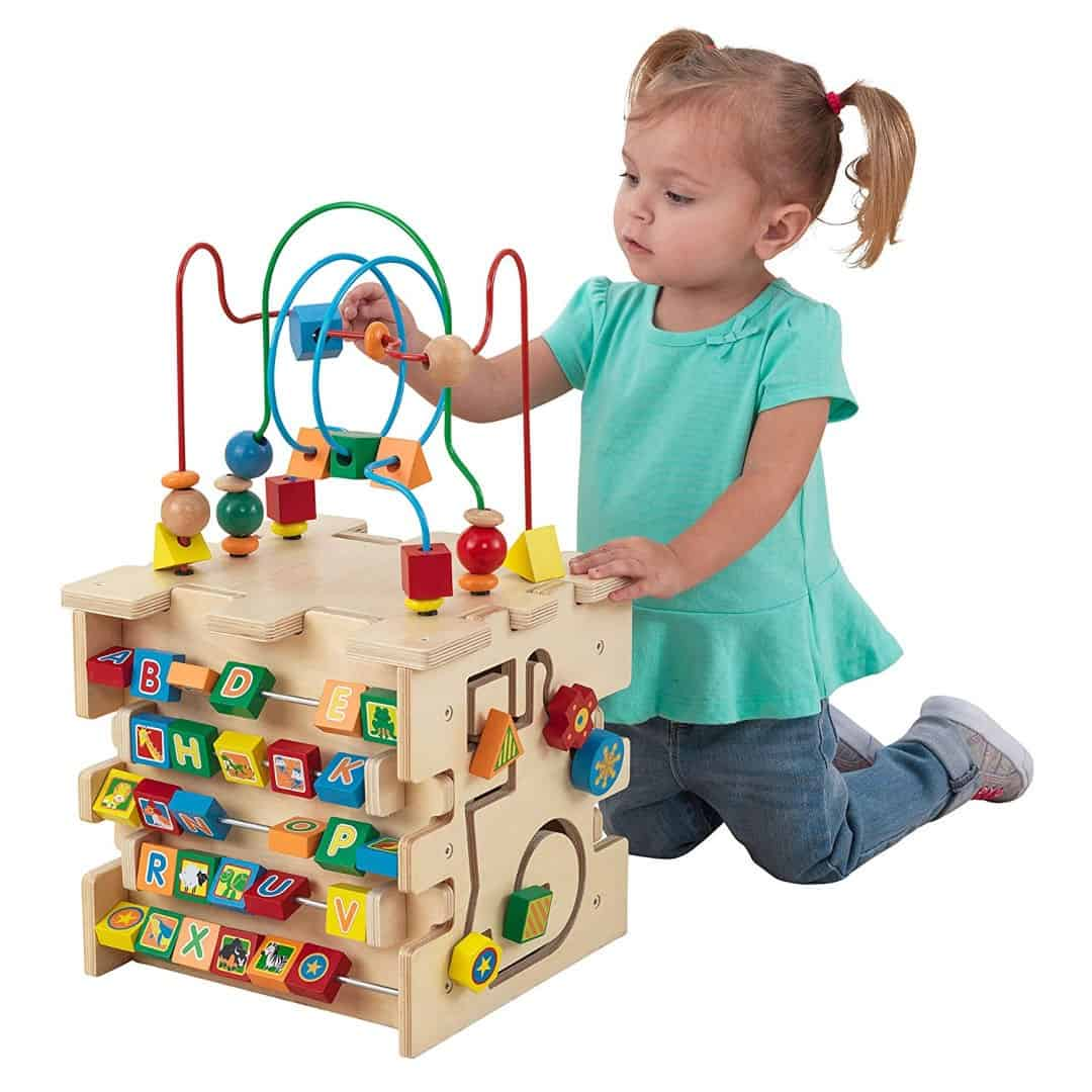 kidcraft deluxe activity cube gift idea for 6 - 12 months old at Christmas