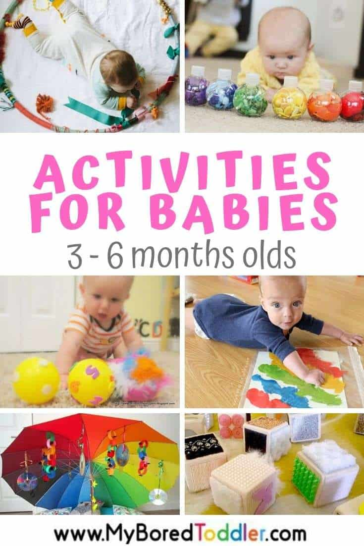 Activities for Babies 3 - 6 Months Old