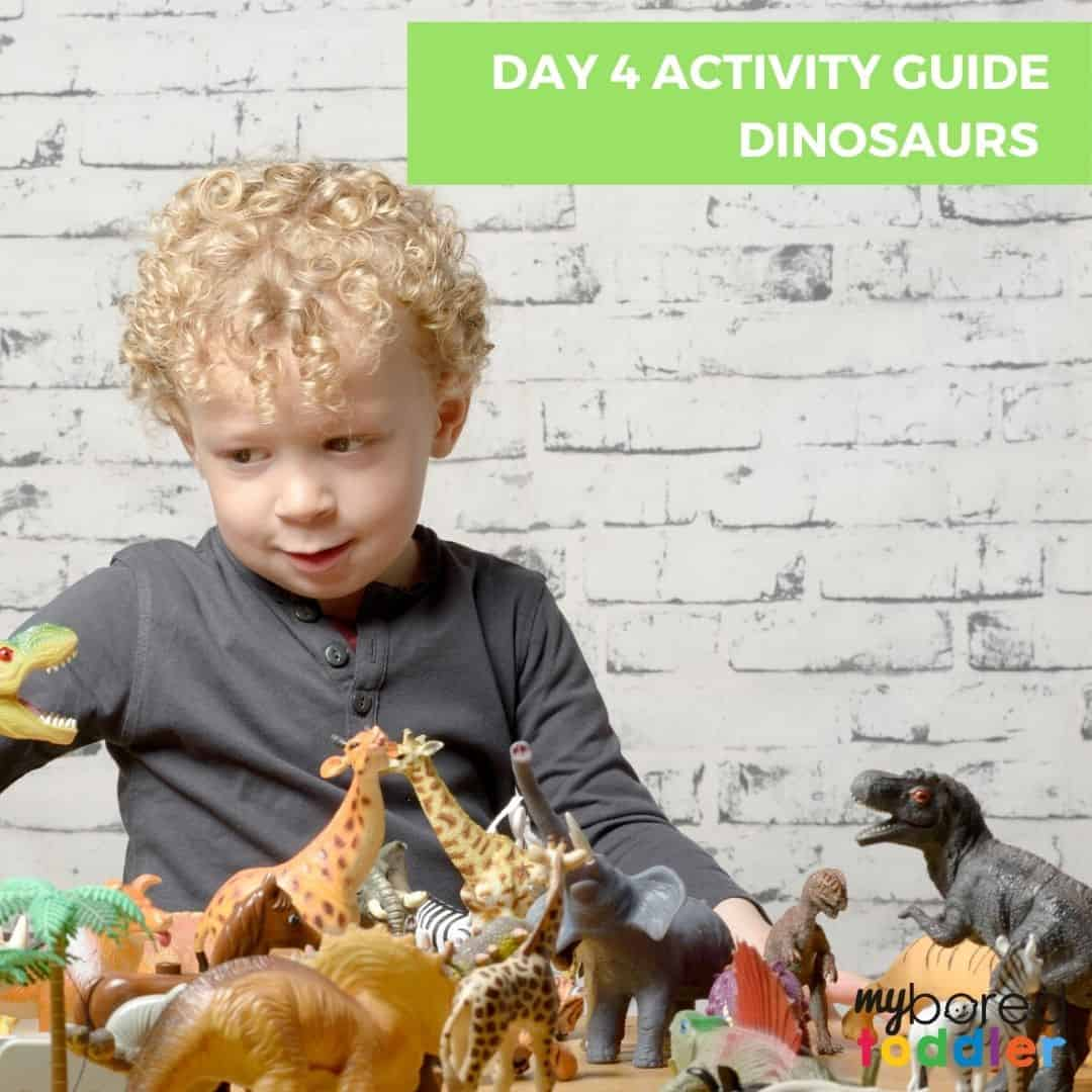 Day 4 activity guide dinosaurs