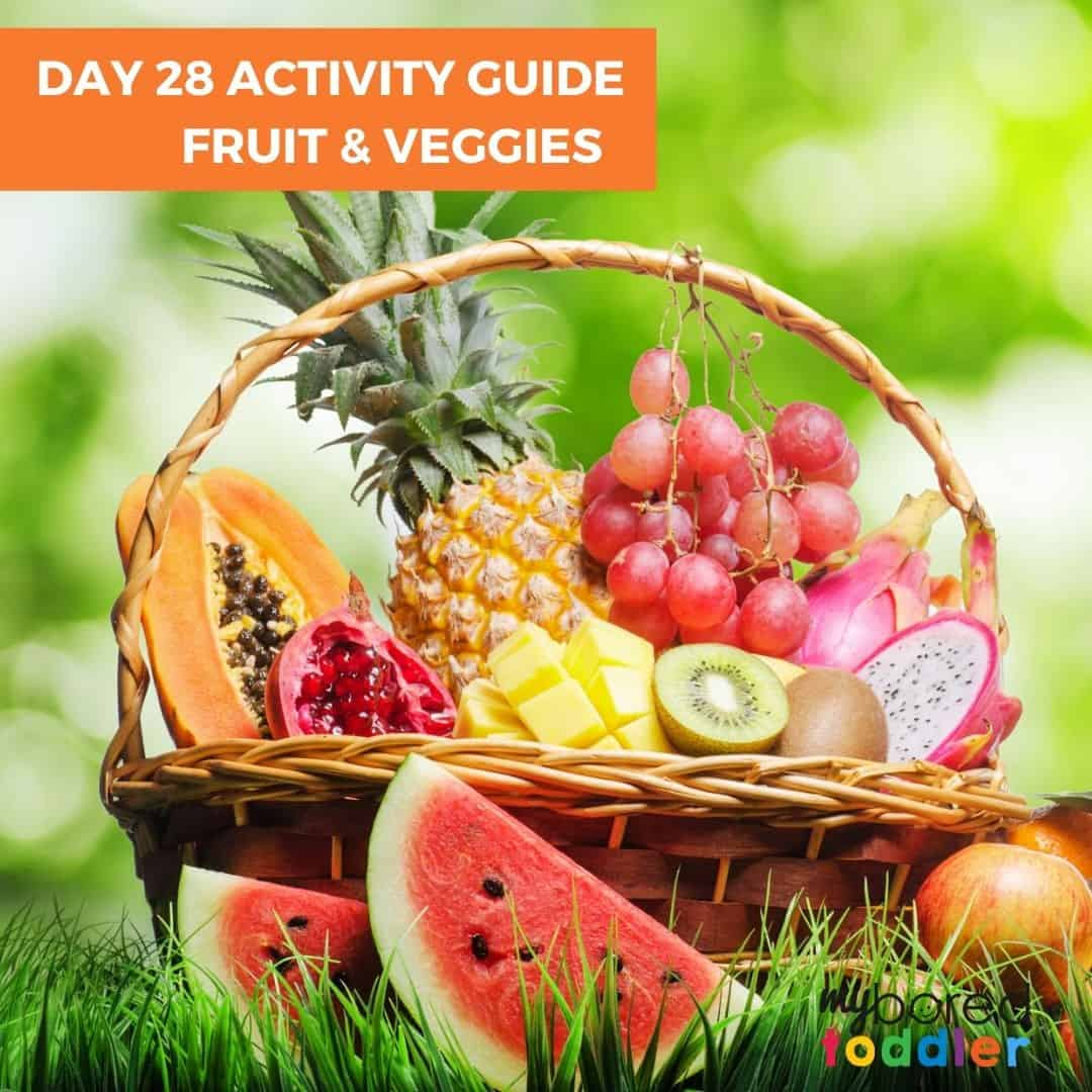 indoor activity guide for toddlers fruit and veggies