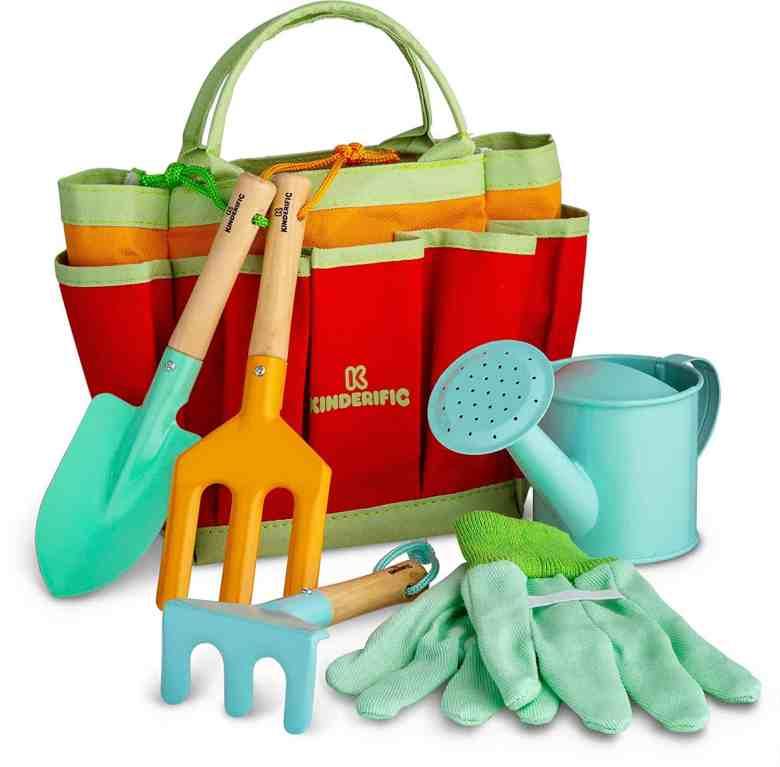 kids gardening tool kit outdoor toys for toddlers
