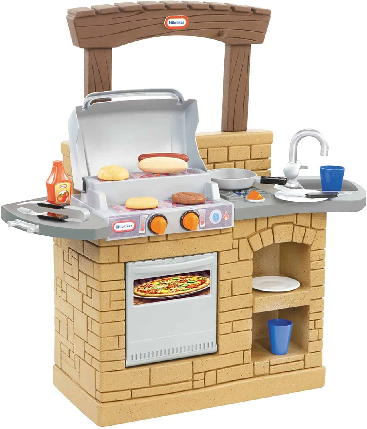 outdoor bbq pretend play outdoor toys for toddlers