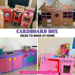 Carboard Box Creations for Kids to Play With
