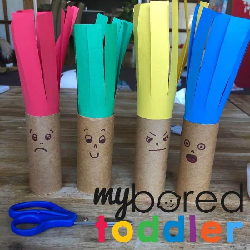 fine motor toddler craft scissor skills step 5