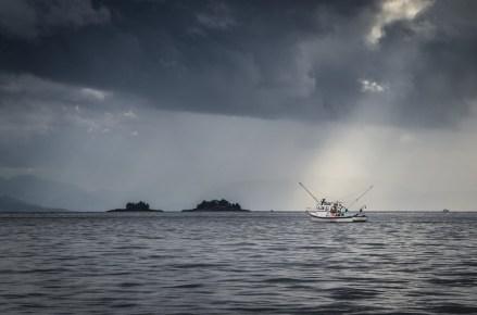 sun ray fishing boat Ketchikan