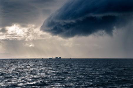huge dark cloud Ketchikan