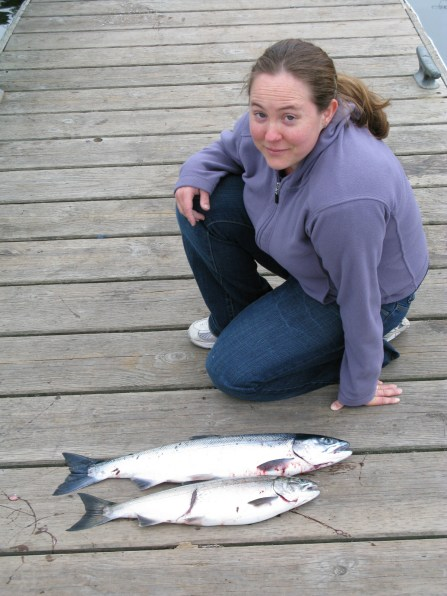 Amity with little salmon