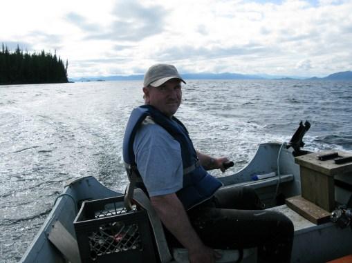 driving skiff Ketchikan