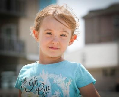 smiling little girl