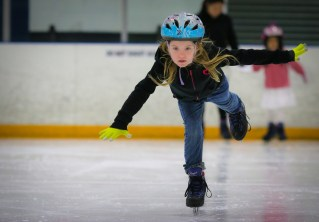 alaina ice skating