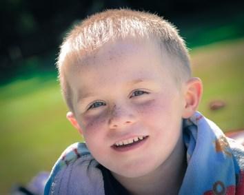 little boy portrait