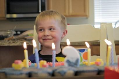 evan birthday cake