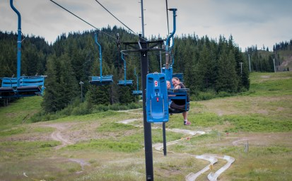 chair lift alpine slide mount hood