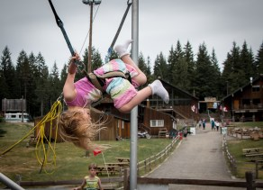 little girl jumpy thing