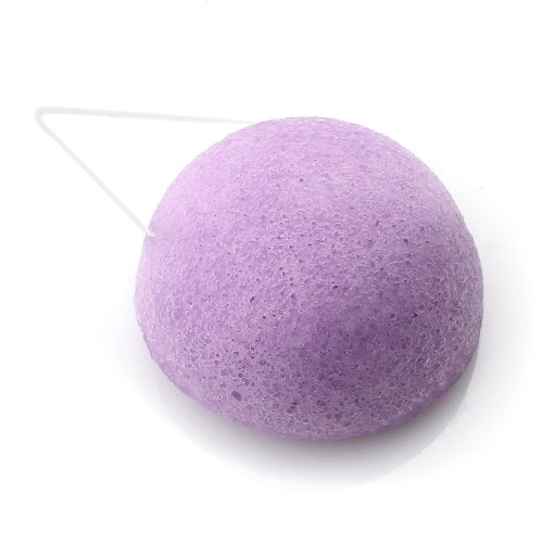 éponge konjac à la violette