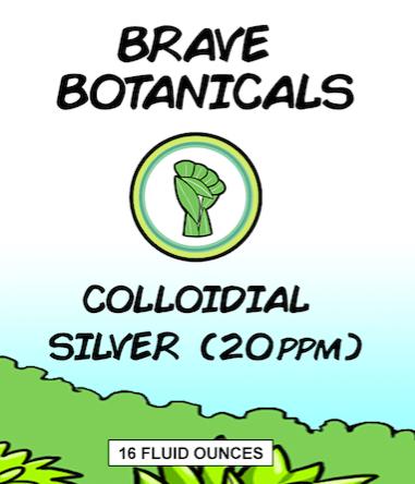 Colloidal Silver – 20 PPM