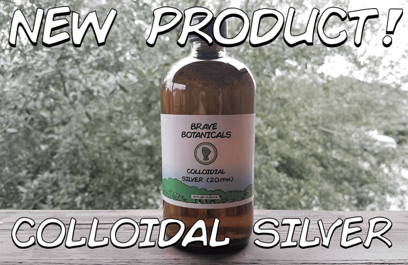We Are Selling Yet Another Product the FDA Doesn't Want You Using – Colloidal Silver!