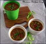 Moroccon Style Chickpea Soup
