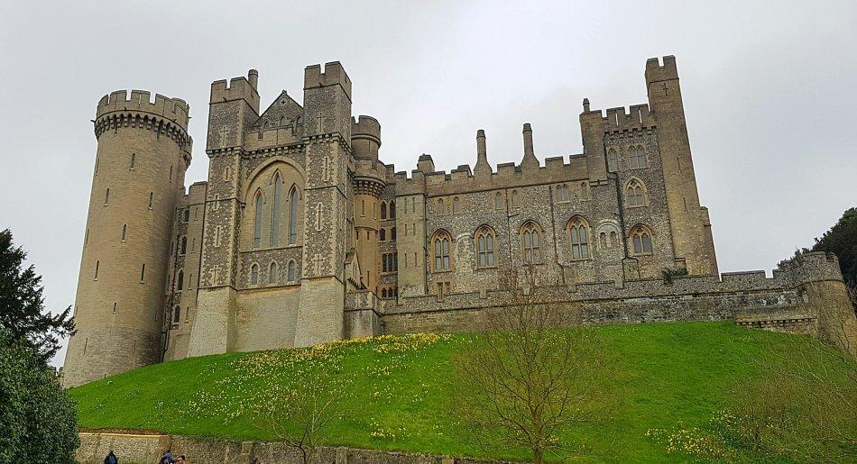 Zamek Arundel jeden z najpiękniejszych zamków Wielkiej Brytanii