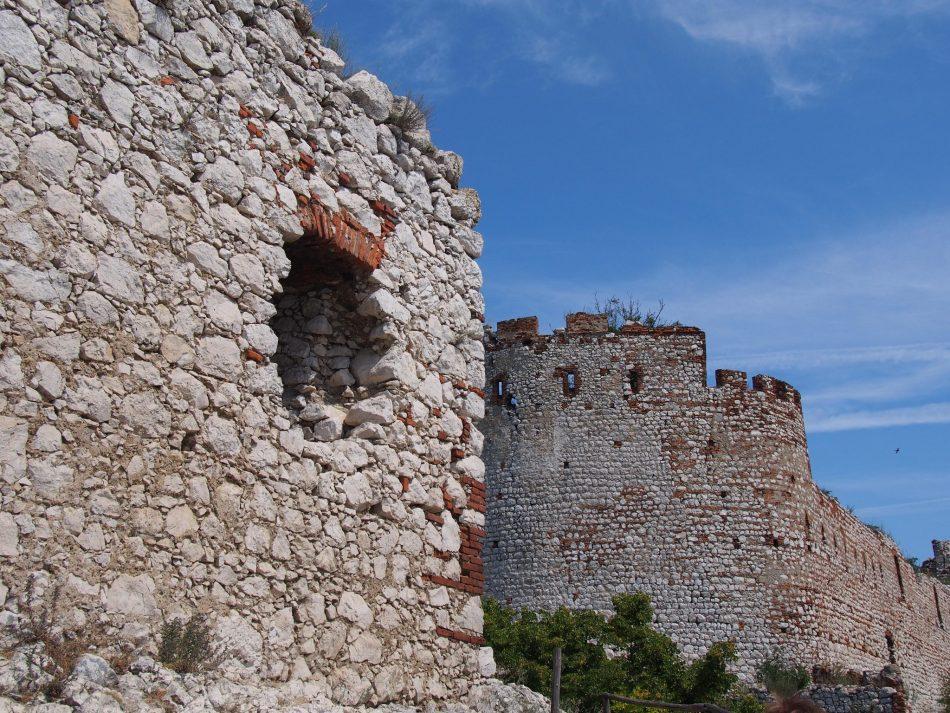 ruiny czeskich zamków