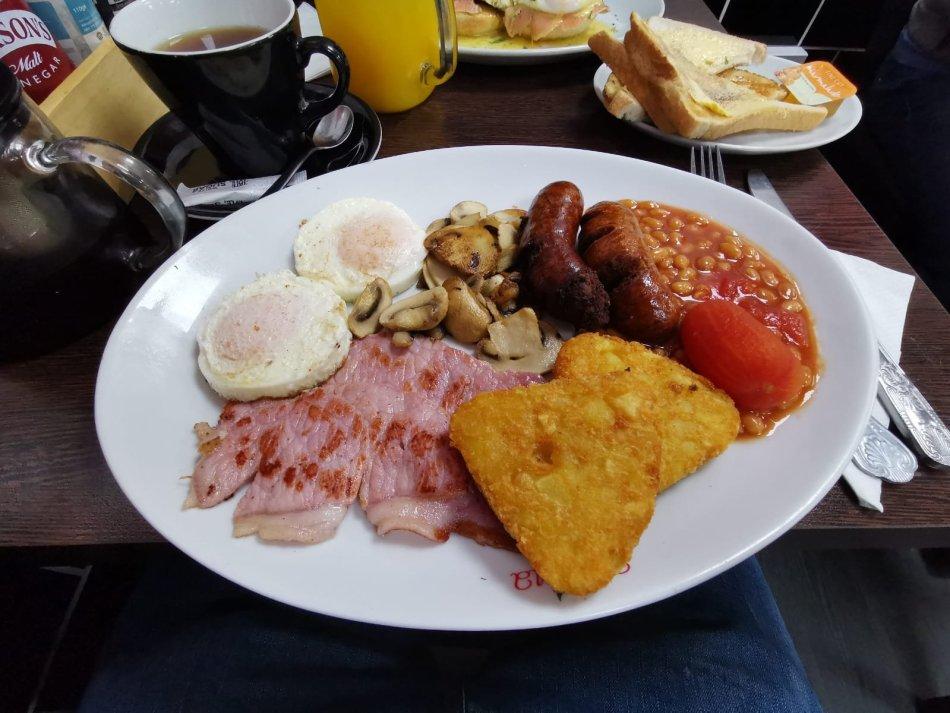 Wimborne Minster lunch