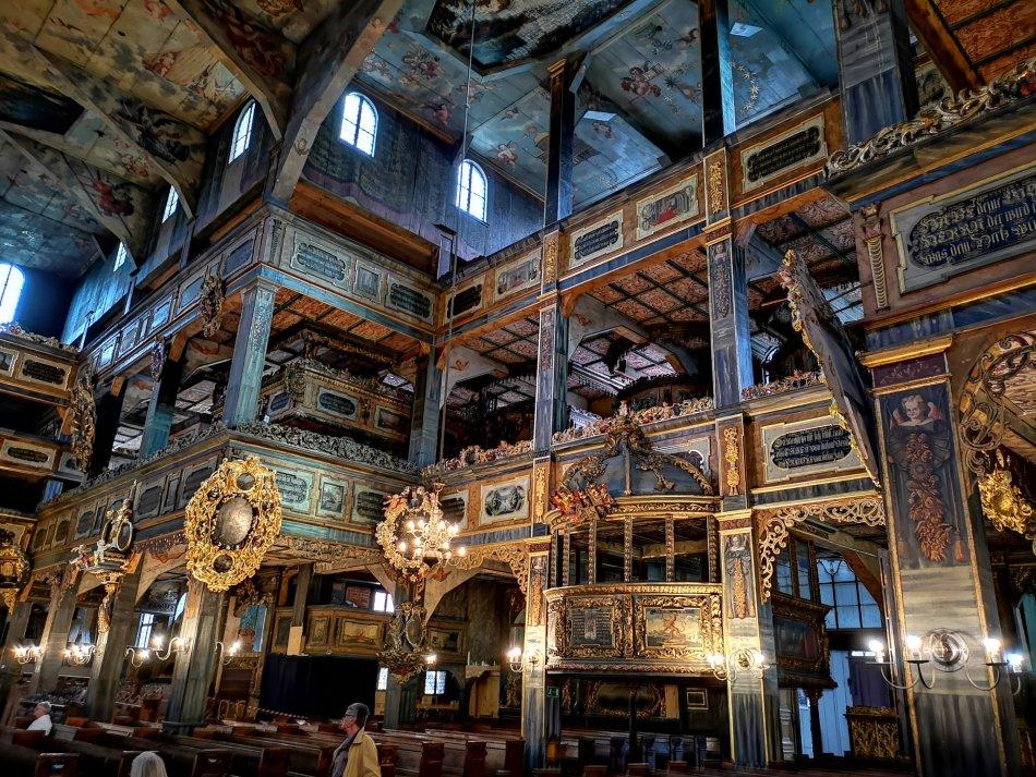 Perełki Dolnego Śląska - drewniany Kościół Pokoju w Świdnicy