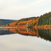 Tutaj wcale nie jest ładnie - Jezioro Vyrnwy