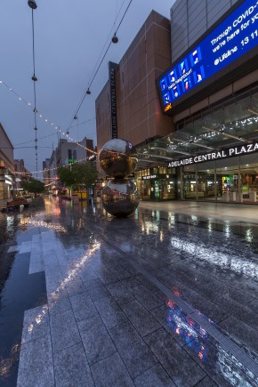 Rundle Mall w Adelaide