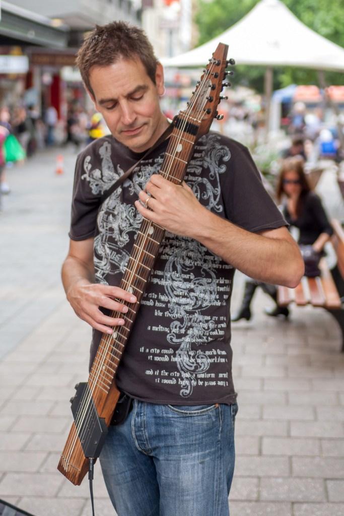 Muzyk w Adelaide