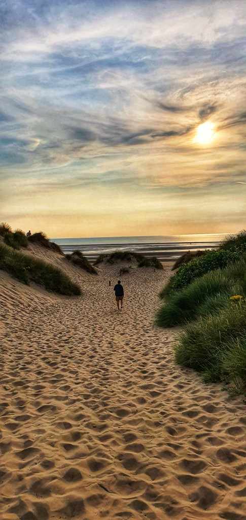 Plaża Formby wejście