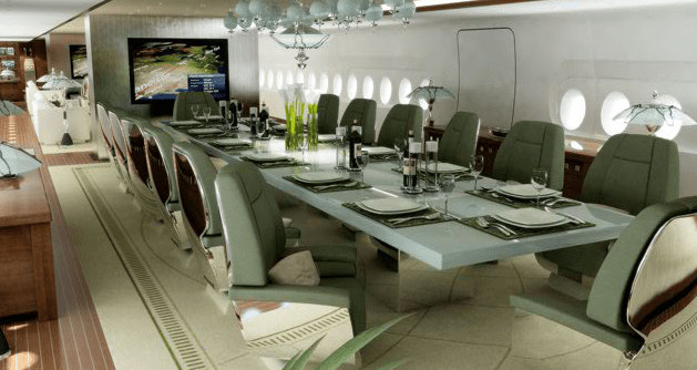 A Look Inside The Worlds Most Expensive Private Jet