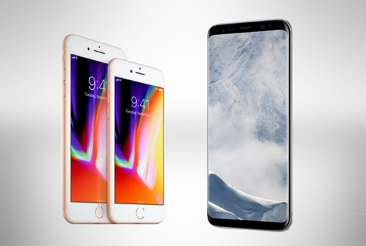 Apple iPhone 8 vs Samsung Galaxy S8 – South African pricing
